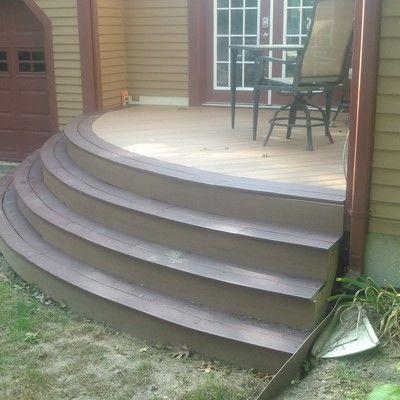 Trex Custom Curve Deck - Picture 7686