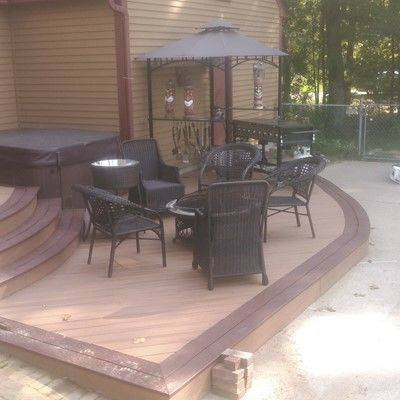 Trex Custom Curve Deck - Picture 7689