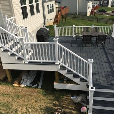 3 level deck - Picture 7742