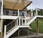 Mahogany Deck with pergola - Picture 7773