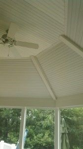 Octagon shaped screened porch - Picture 7817