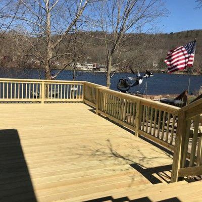 Decks design free plans software how to build shelton ct pt wood deck solutioingenieria Images