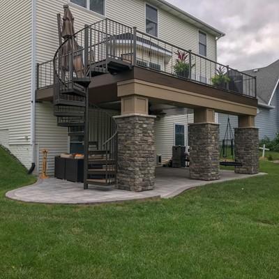 Better Builders Urbandale, IN Decks - Picture 8028