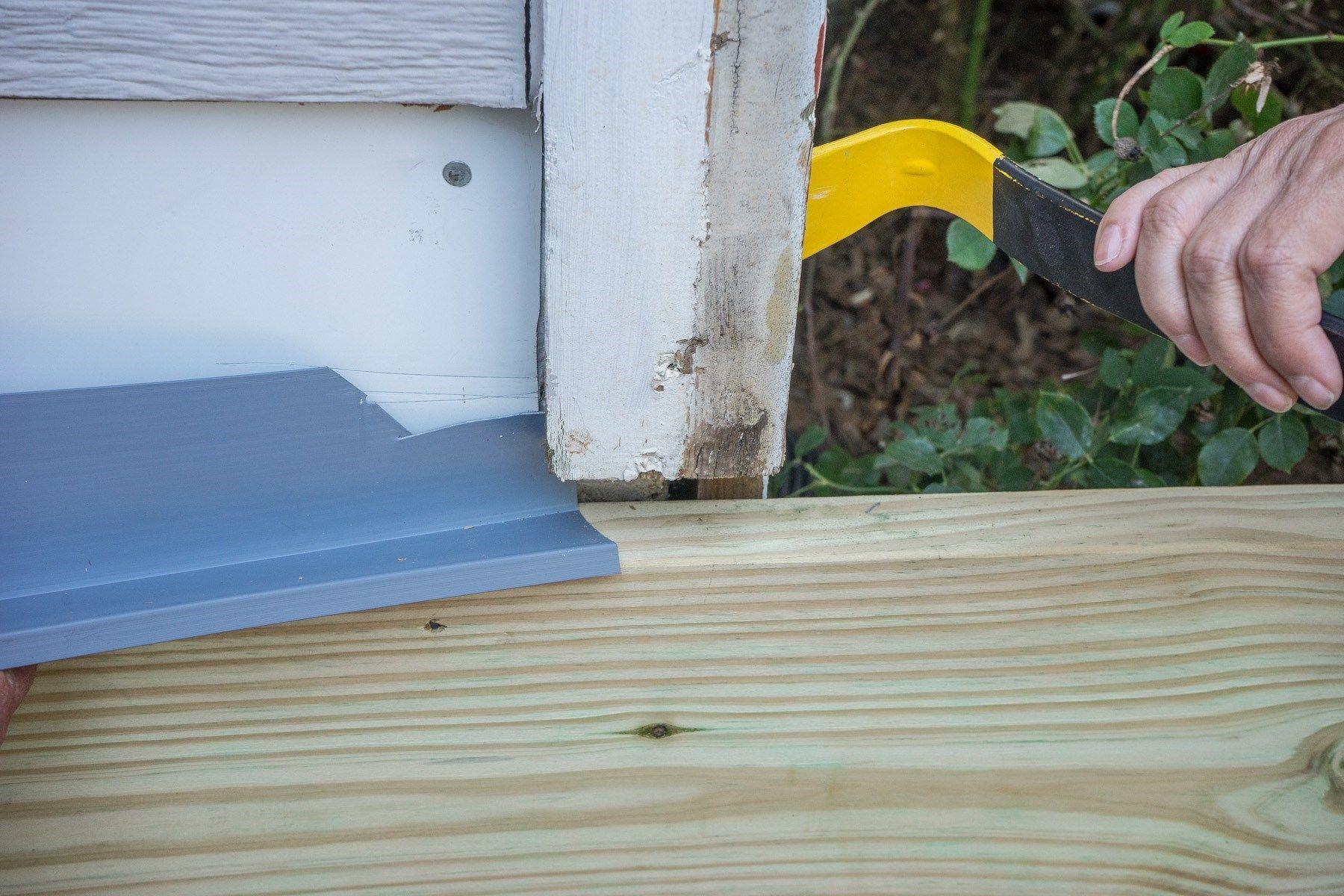 How To Flash A Deck Ledger Board Decks Com