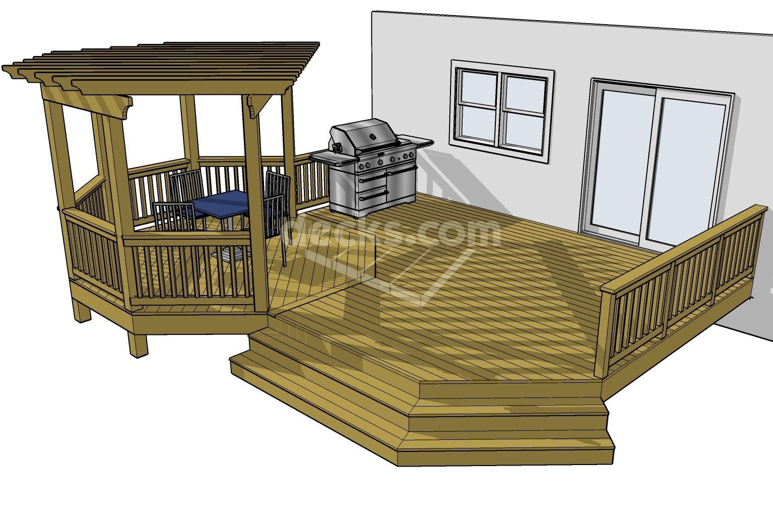 10 tips for designing a great deck for Octagon deck plans free