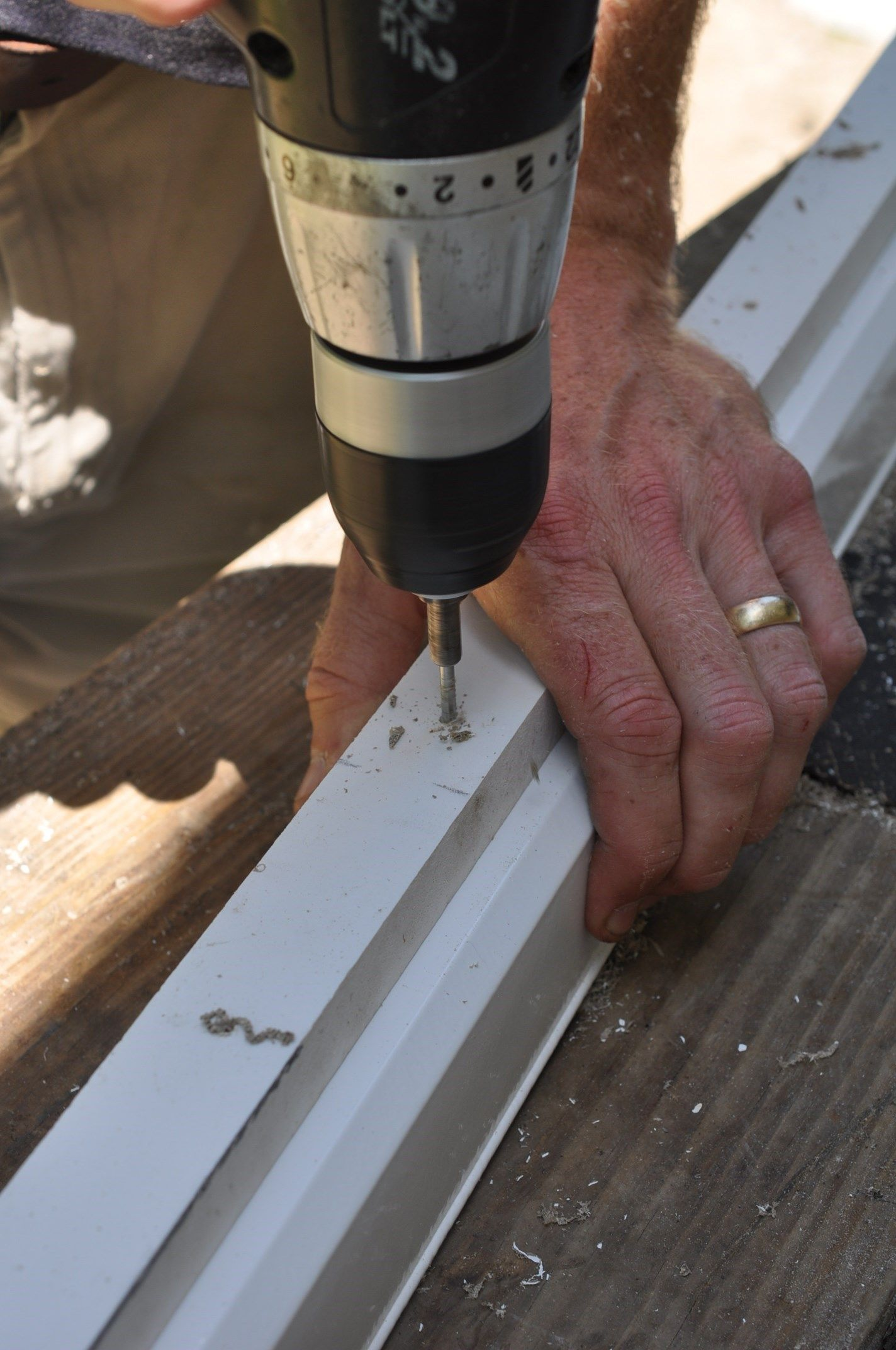 How to Install Composite Deck Railings | Decks com