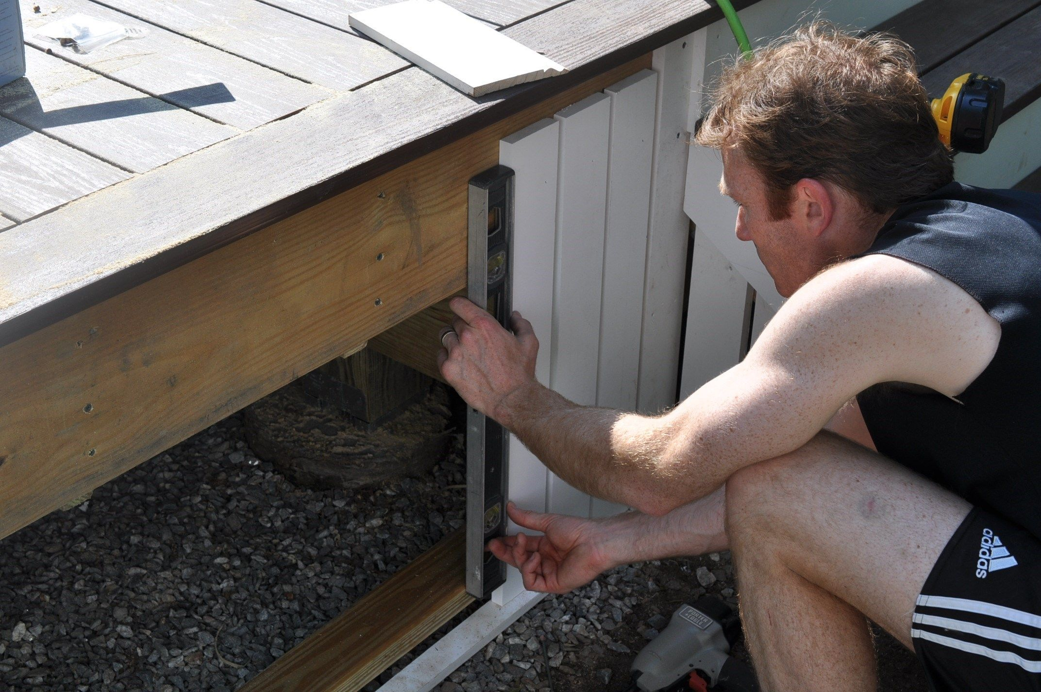 Installing Composite Deck Skirting and Fascia | Decks com