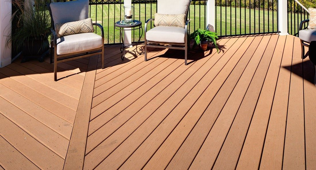 Moistureshield decking for Best composite decking material