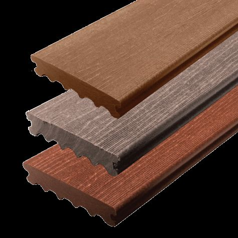 Composite decking source new design grooved decking wpc for Best composite decking material reviews