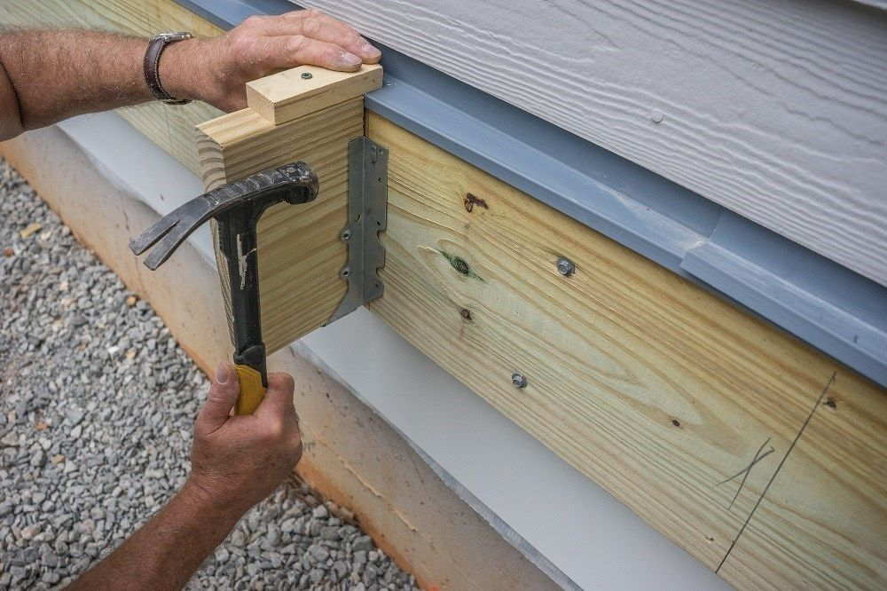 Decks Com Attaching Joists With Hangers