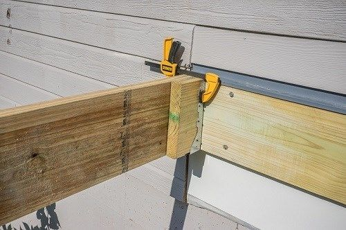 Framing Deck Board Width ~ Decks framing a deck perimeter board by