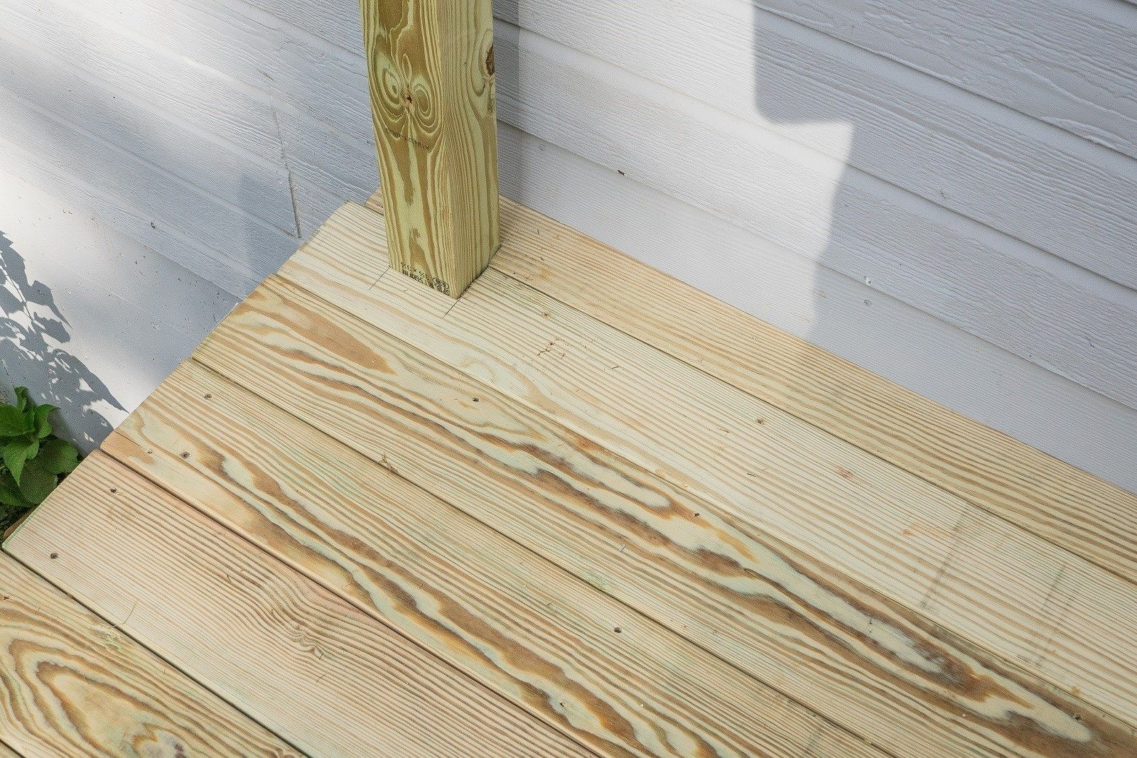 Decks the last decking board by house
