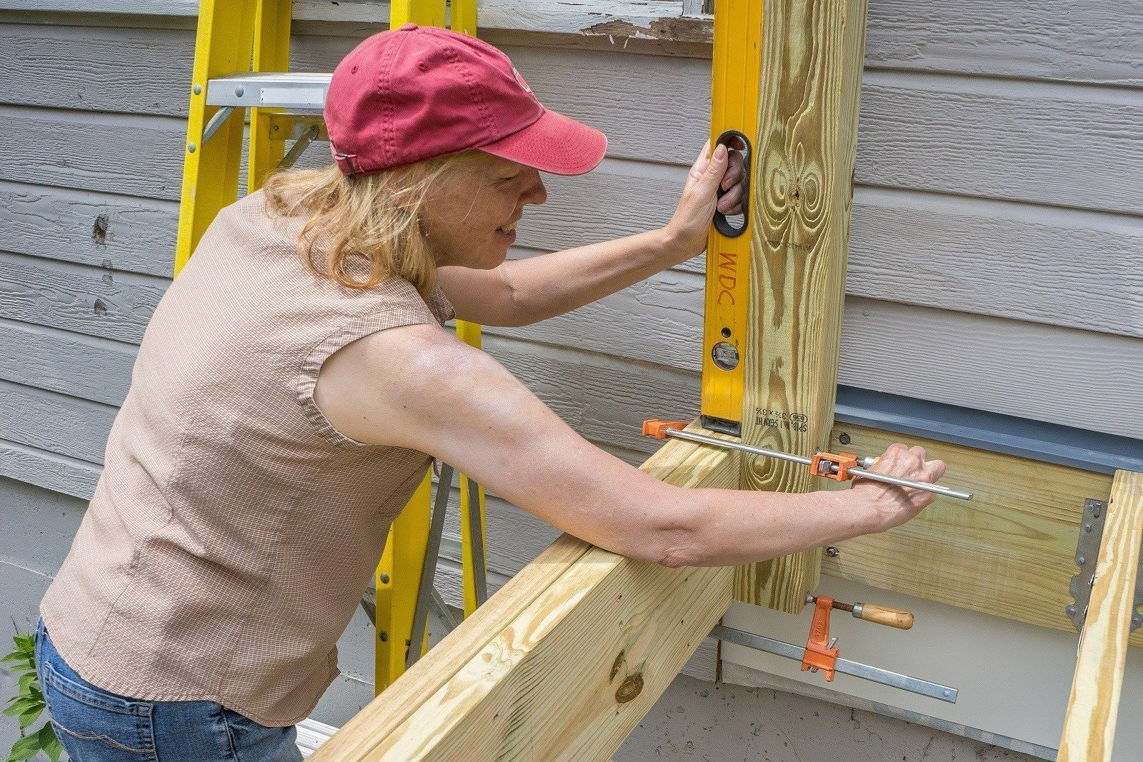 How To Install Deck Railing Posts Decks Com
