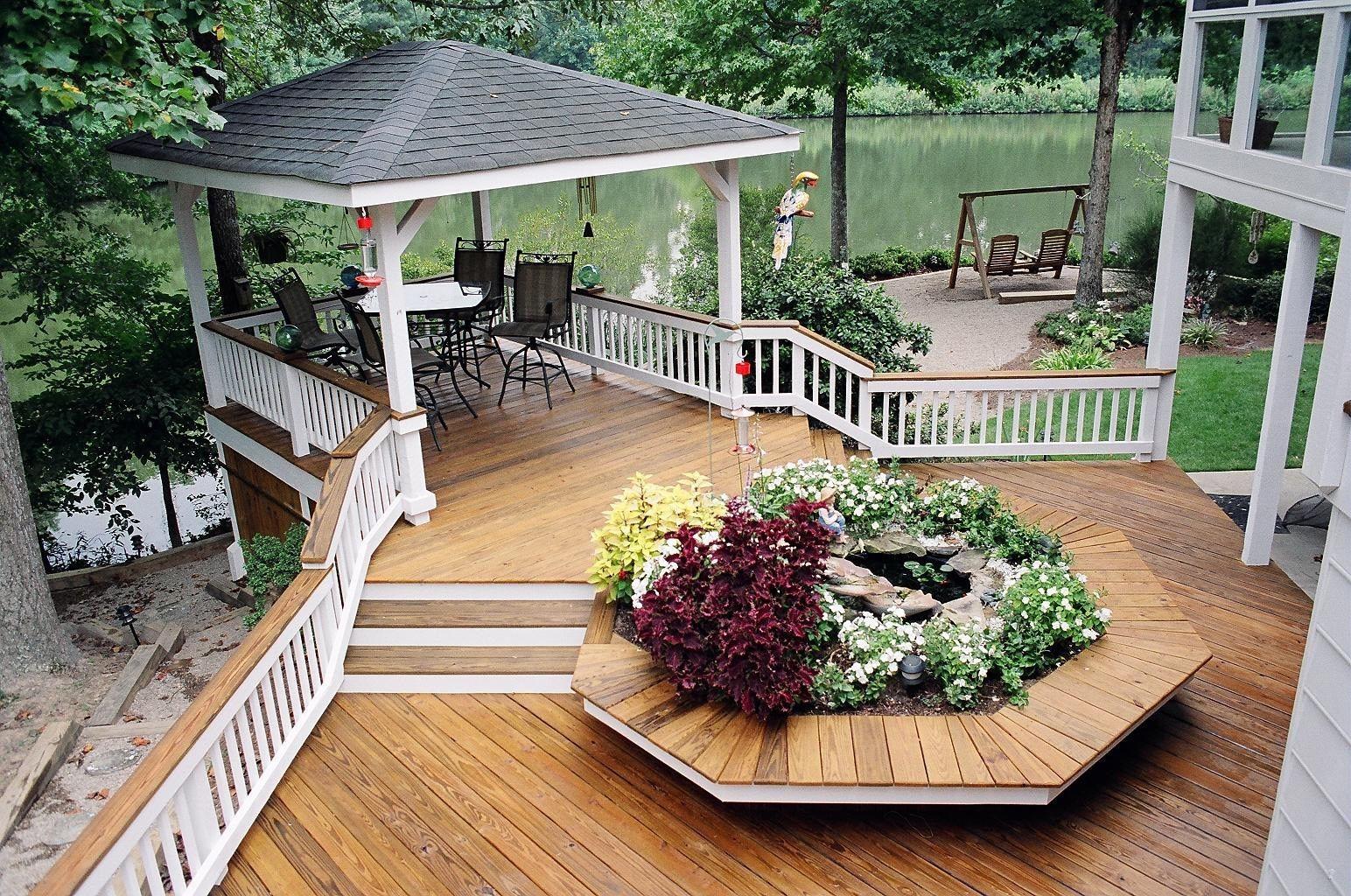 Decks deck railing ideas deck railing ideas baanklon Choice Image