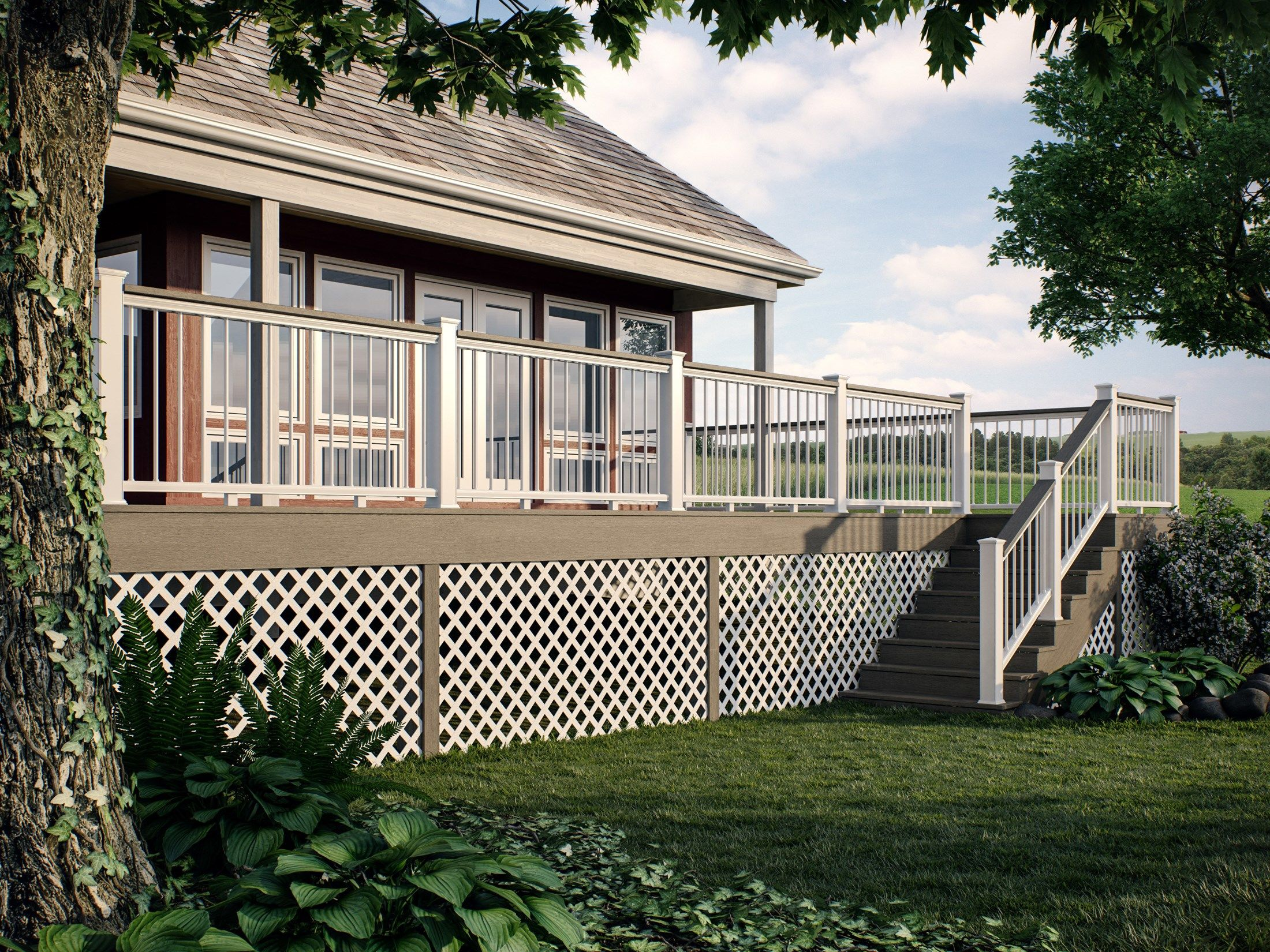 deck railing ideas - Deck Railing Design Ideas