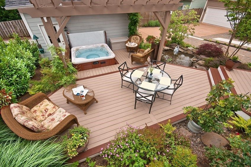 How To Build A Ground Level Deck Decks Com