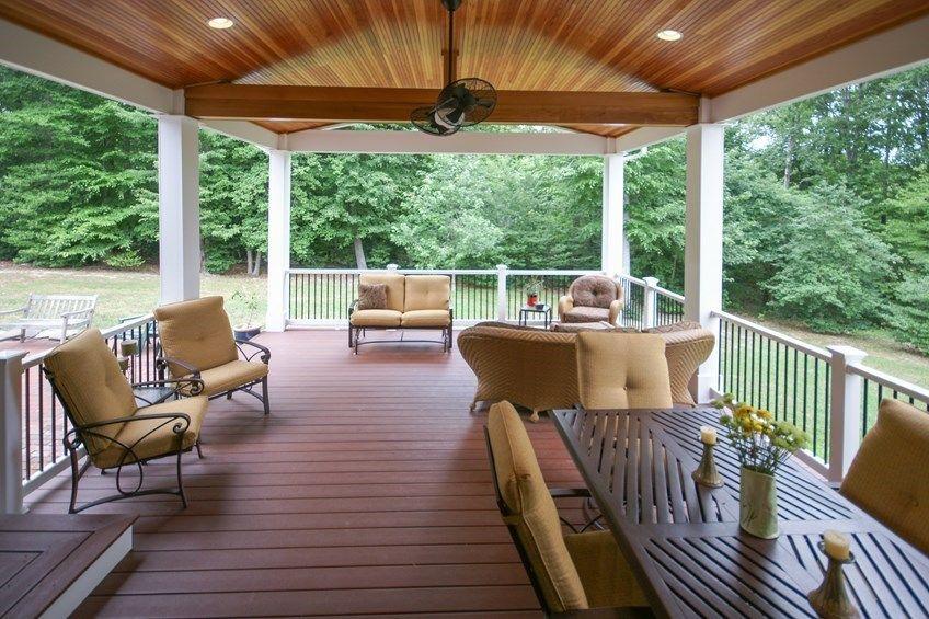 Decks Com Porch Finish Work