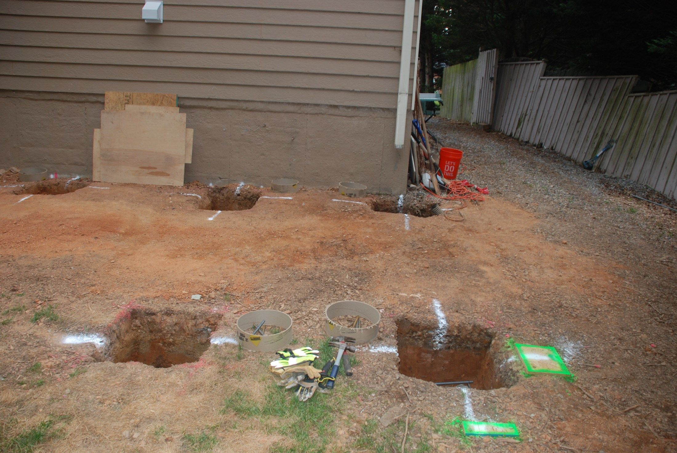 How To Build A Deck Without Digging Post Holes