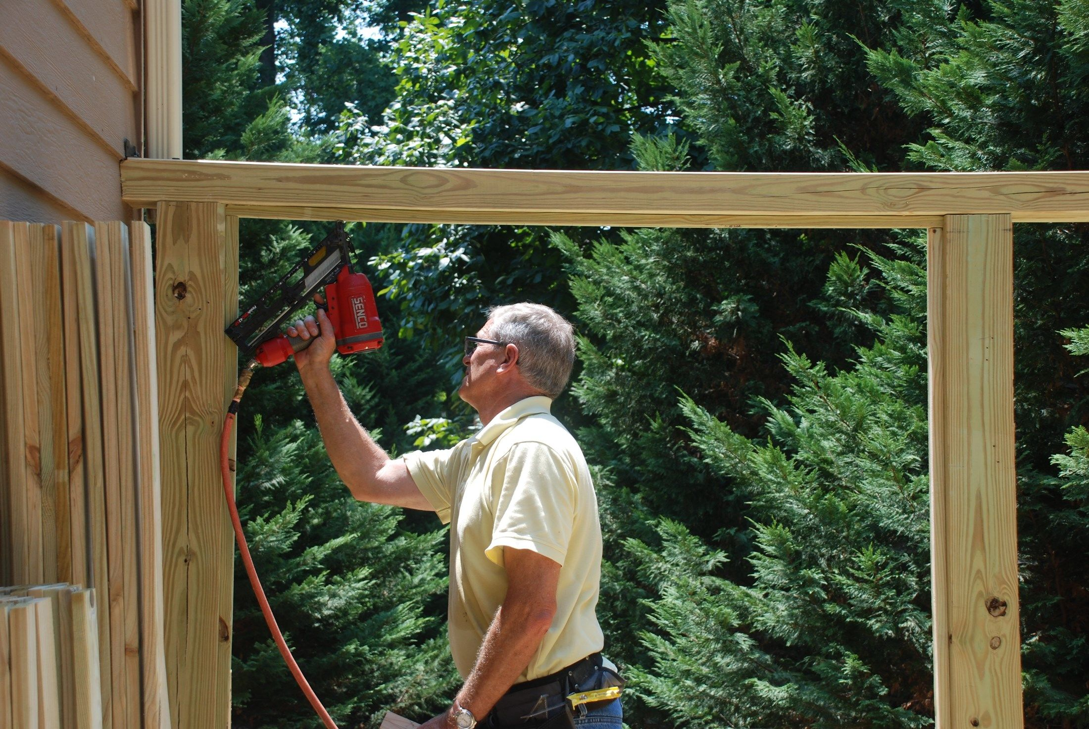 How To Build A Deck Privacy Screen