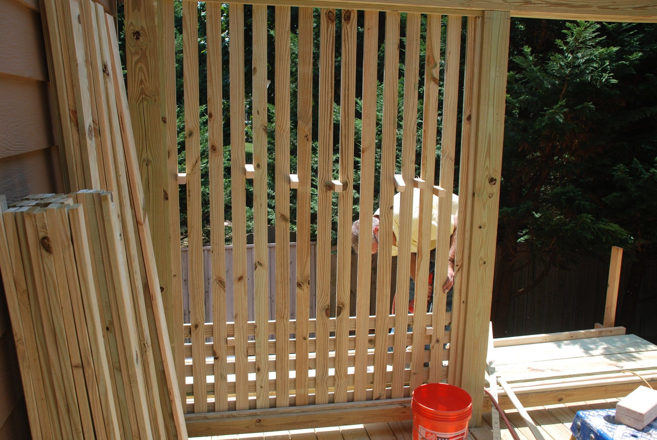 Decks Com Deck Privacy Screen