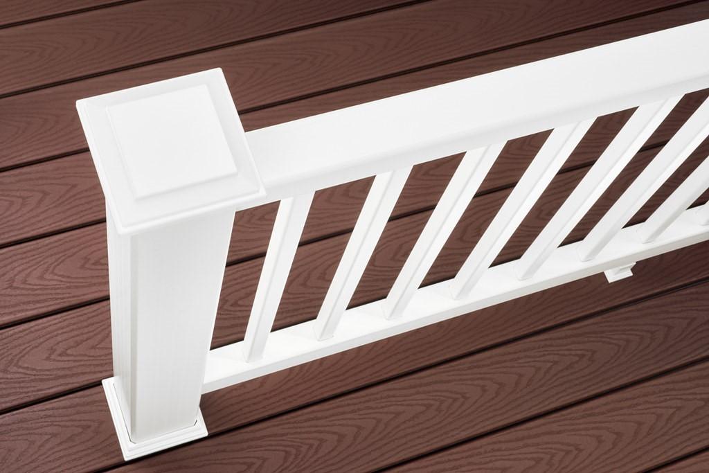 Vinyl Deck Railing