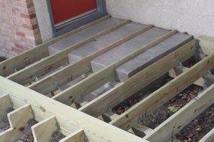 Decks Com Framing And Building A Deck
