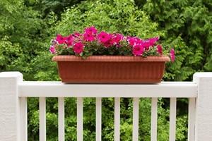 How to Build a DIY Deck Railing Planter Box