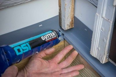 Be sure to caulk the flashing