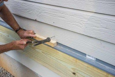 Decks Com Flashing The Ledger Board