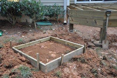 A box concrete form.