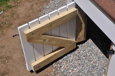 A functional storage door!