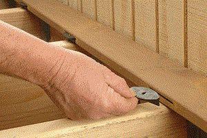 Eb-Ty Hidden Deck Fastener