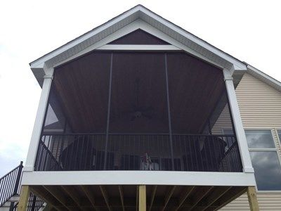 Gable Porch Roof