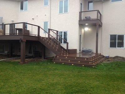 Deck Stair Landing