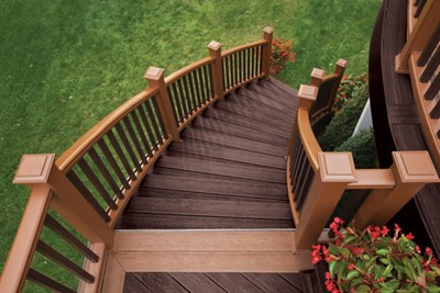 Leesburg Staircase - Down