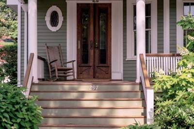 Small Front Porch Idea