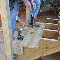 How To Build Deck Stairs Amp Steps Decks Com
