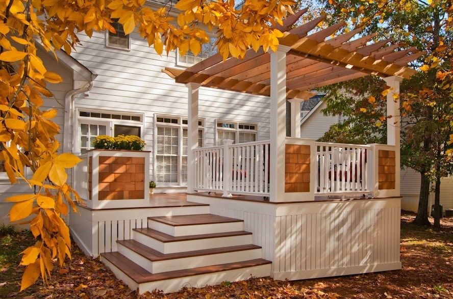 Cape Cod Deck - Decks.com. Deck Idea Pictures