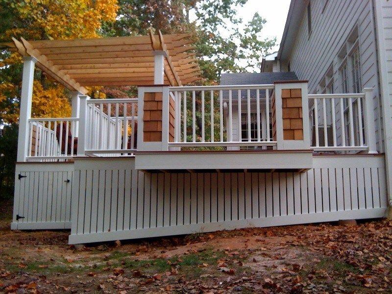 Cape Cod Deck Picture 1082 Decks Com