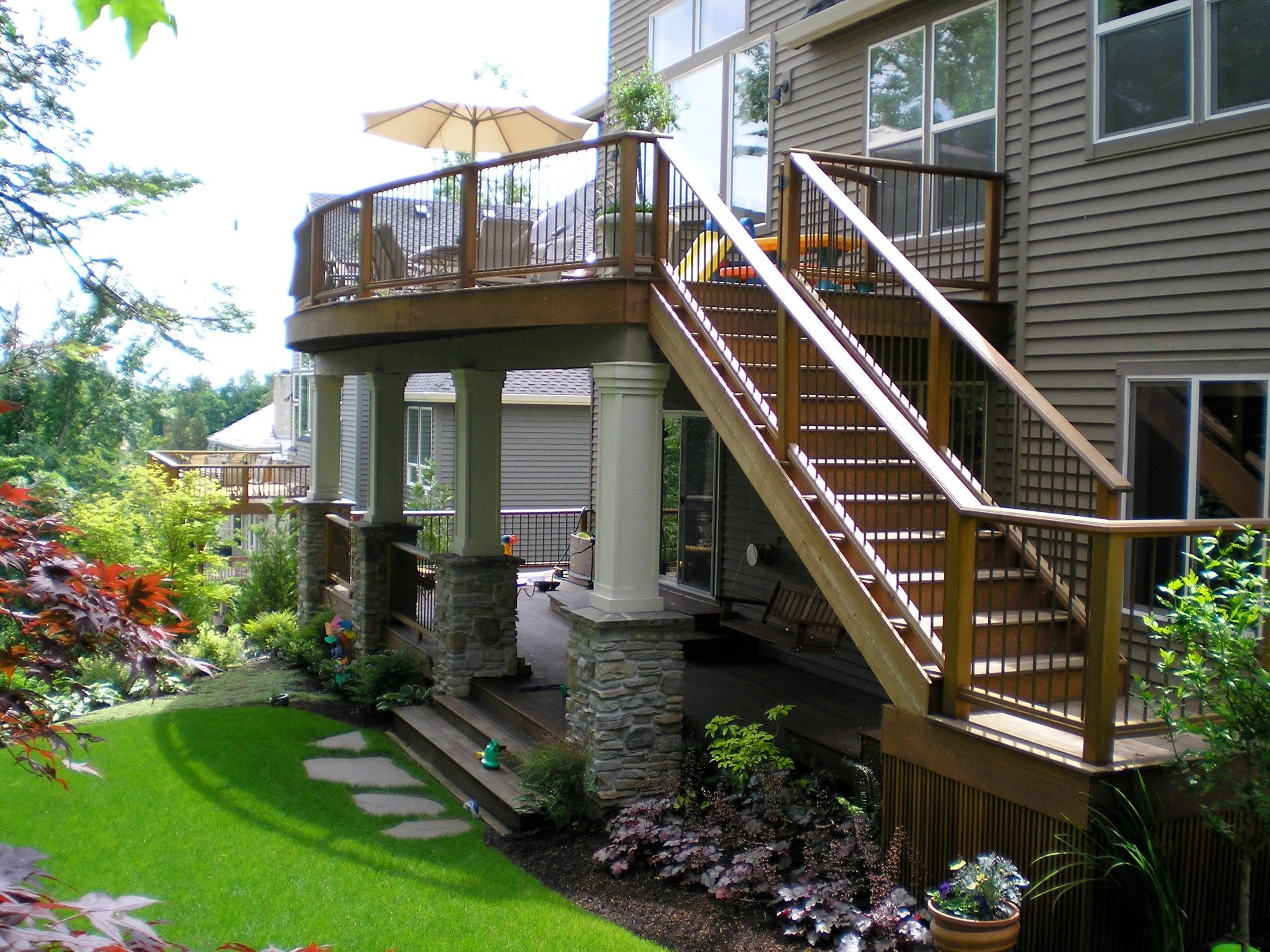 deck ideas. Jasper Cedar Mill Deck Ideas