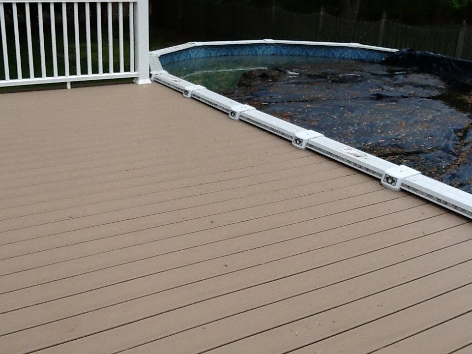 Pool Deck in East Windsor - Picture 1114