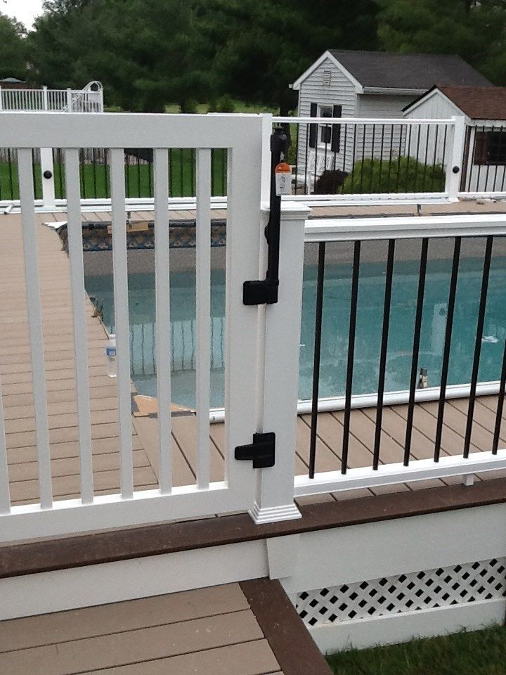 Above Ground Pool Deck 3 Picture 1117