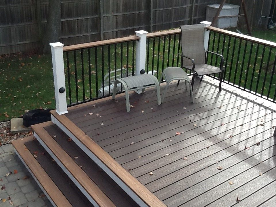 Composite Decking Amp Railing Ideas Designs Amp Pictures