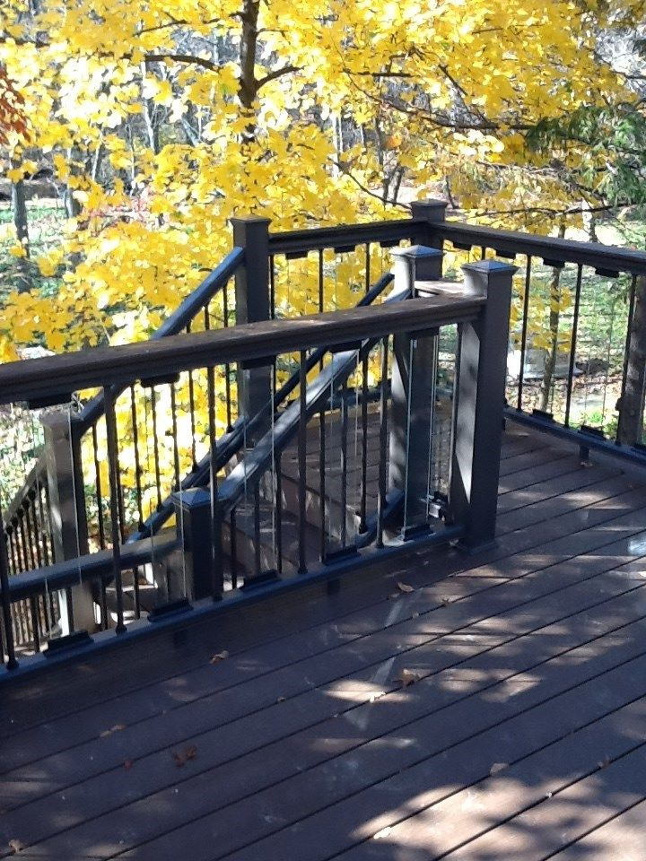 Glass Balusters in West Windsor - Picture 1138
