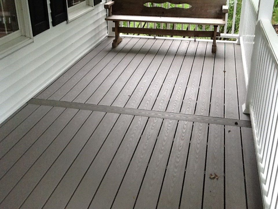 Front porch in Ewing Twp. - Picture 1148