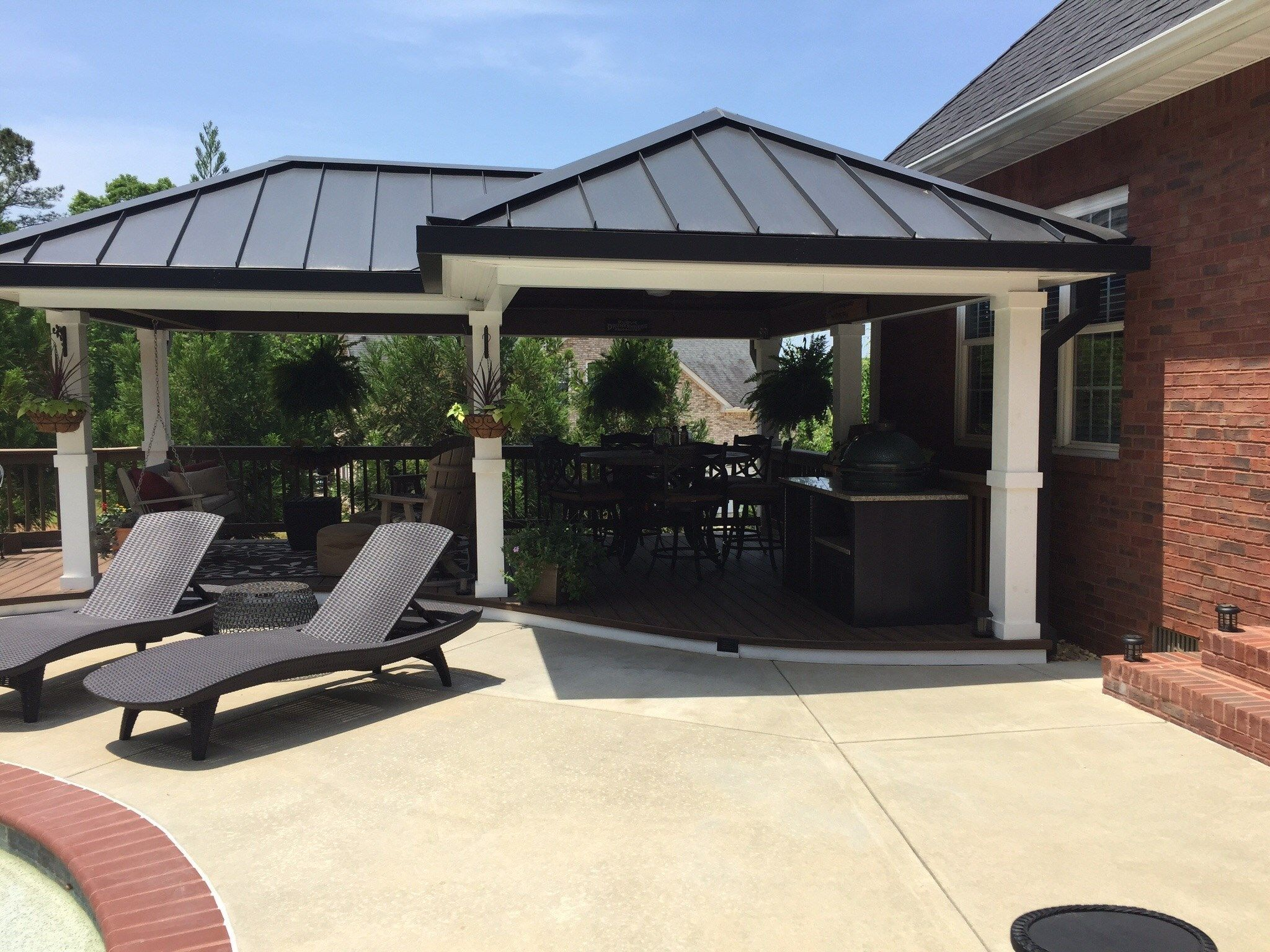 Deck and gazebo - Picture 1186