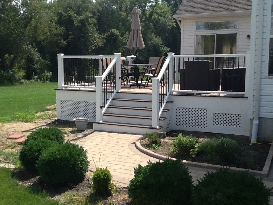 Deck to Hardscape - Picture 1216