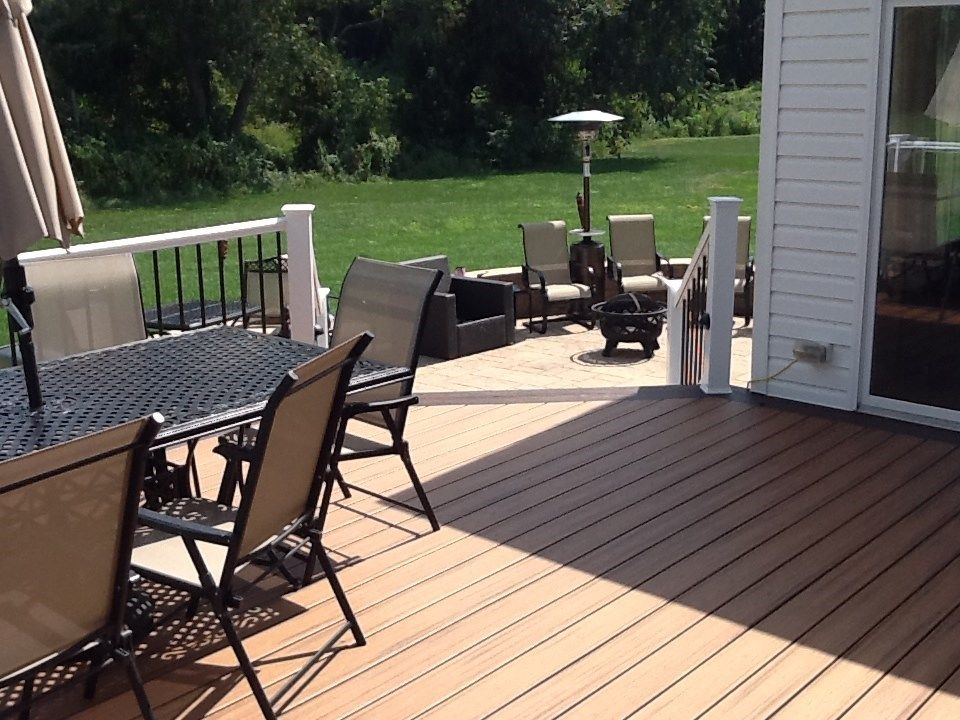 Deck to Hardscape - Picture 1217