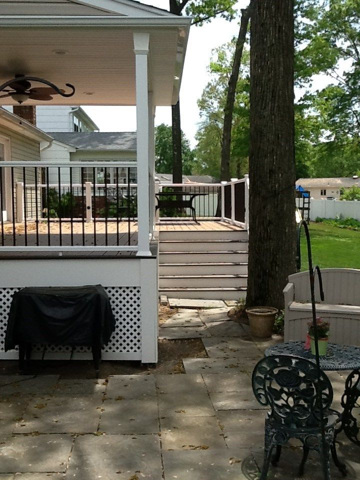 Best of both Deck and Patio - Picture 1222
