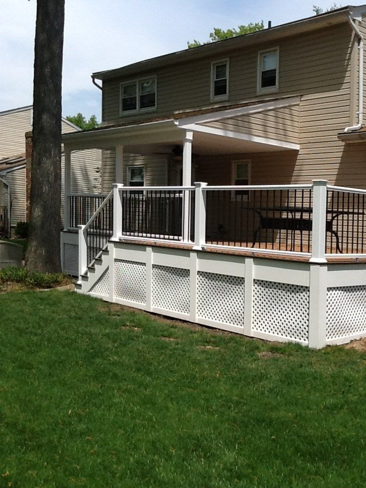 Best of both Deck and Patio - Picture 1224